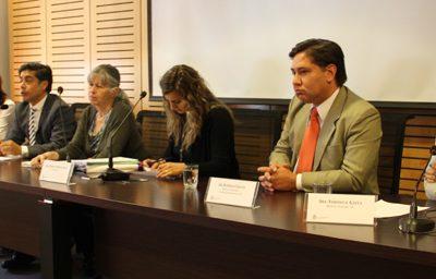 Director Nacional de Senda expuso en seminario sobre la legalización de la marihuana en la Facultad de Derecho de la Universidad Católica