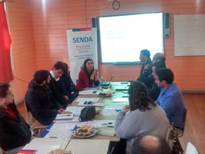Por segunda vez sesionó Comisión comunal de Alcohol y Drogas de Futrono
