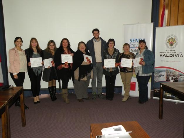 Socias de Agrupación APALUN Cultura y Desarrollo Social se certificaron como Monitoras Preventivas