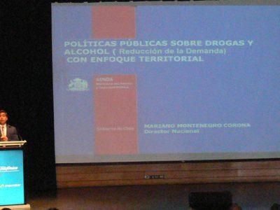 Director de SENDA destaca importancia del enfoque territorial en políticas de alcohol y otras drogas