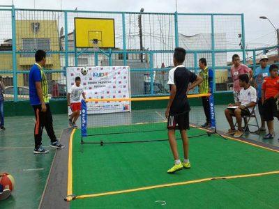 """SENDA Previene y municipio de Iquique realizaron Torneo de """"Fútbol–Tenis"""" en la comuna"""