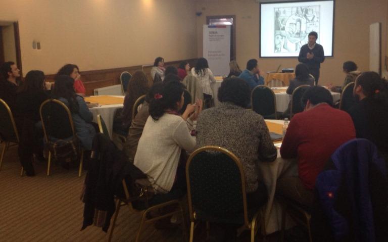 Centros de tratamiento participan en taller de intervención familiar y adicciones