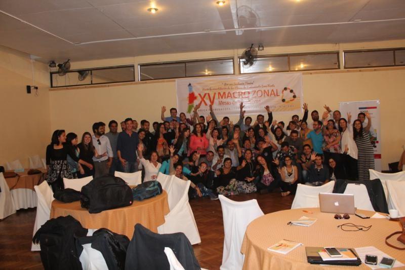 Con éxito finalizó XV Encuentro Macrozonal Norte de Tratamiento de Drogas