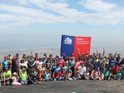 Con un trekking familiar presentan en La Serena la nueva campaña de Senda