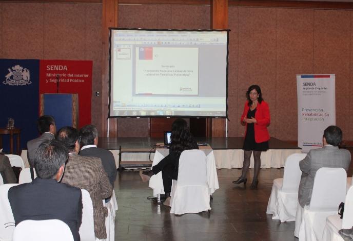 Realizan seminario sobre calidad de vida laboral en La Serena