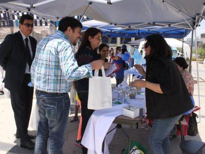 En Liceo Agrícola San Javier realizan primera feria preventiva de SENDA