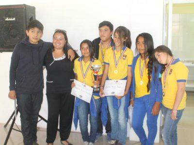 Escuela Básica de La Tirana ganó debate preventivo del consumo de drogas y alcohol en Pozo Almonte