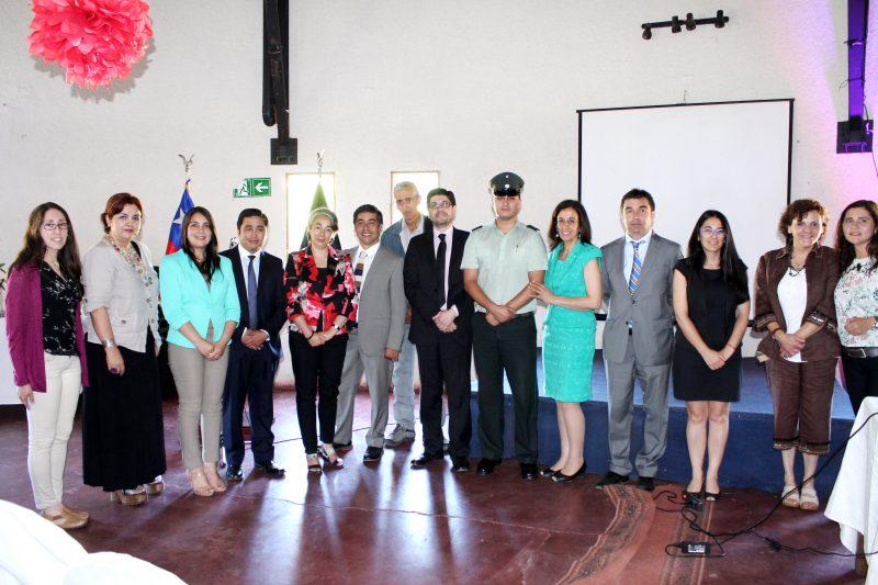 Director Nacional de SENDA expuso ante funcionarios de Gendarmería en O'Higgins