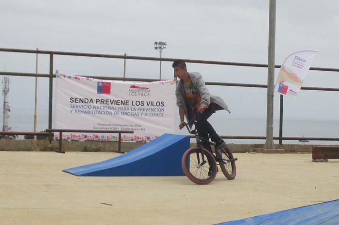 BMX preventivo en Los Vilos