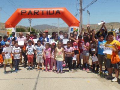 Masiva corrida familiar en el marco de la campaña «Empezar a Conversar»