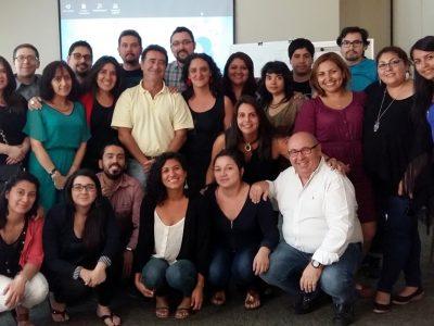 Expertos españoles capacitaron a profesionales de dispositivos de integración social de SENDA