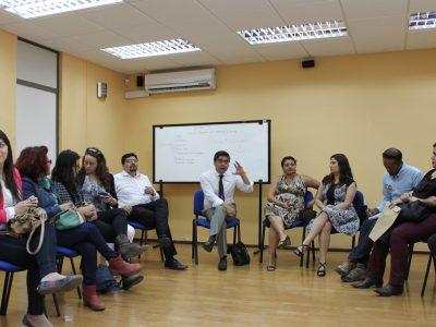 Mariano Montenegro encabezó reunión de trabajo con equipos de SENDA de la Región de Antofagasta