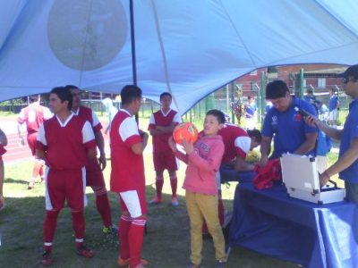 Aplicaron Alcotest Preventivo en Final de Campeonato Interregional de Fútbol
