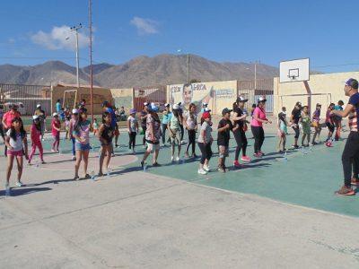Sector Aeropuerto de Chañaral recibió campaña preventiva de Gobierno