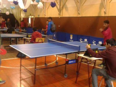 Estudiantes de La Unión promueven buen uso del tiempo libre en Primer Campeonato de Tenis de Mesa