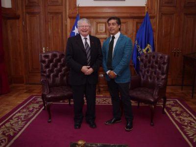 Director de SENDA sostuvo reunión protocolar con nuevo presidente de la Corte Suprema