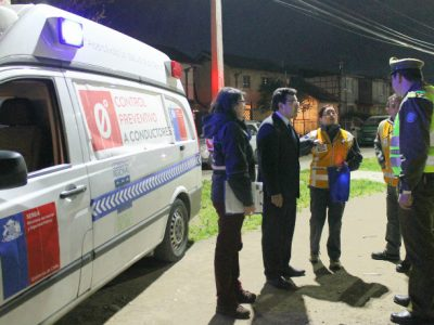 Ambulancia Control Cero triplicó los controles el 2015