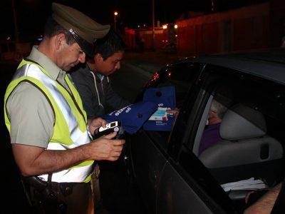 Senda y Carabineros realizan más de 900 controles preventivos a conductores durante este fin de semana