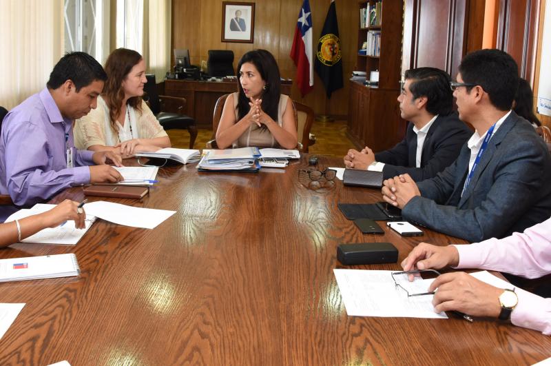Director de SENDA cumple intensa agenda de trabajo en Arica y Parinacota