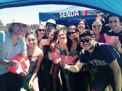 Con masiva intervención SENDA OHIGGINS lanza Campaña de Verano 2016 en Pichilemu