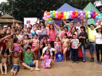 Río Negro promueve campaña de verano en piscina municipal