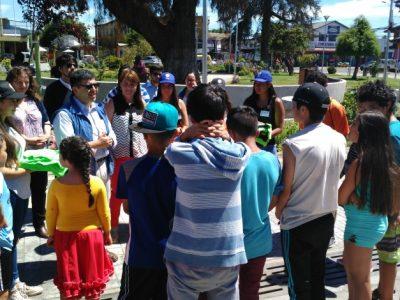 SENDA Previene Lanco, Chile Crece Contigo y Municipio lanzaron Campaña Preventiva de Verano
