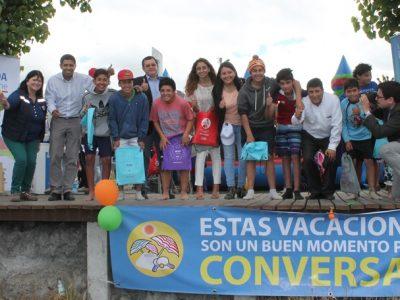 Lanzan campaña de verano de SENDA con entretenidas actividades en Llanquihue