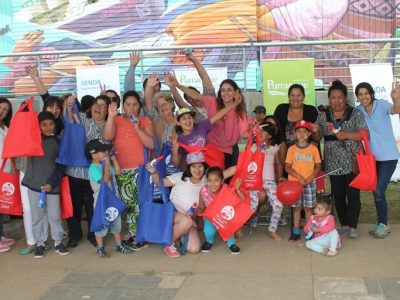En Purranque se unieron a la campaña de verano de SENDA