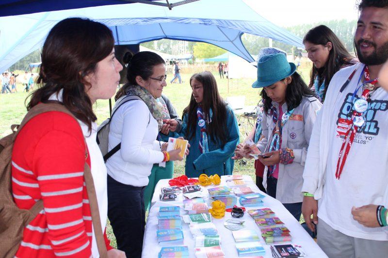 SENDA realiza  Feria Preventiva en Escuela Patricio Lynch