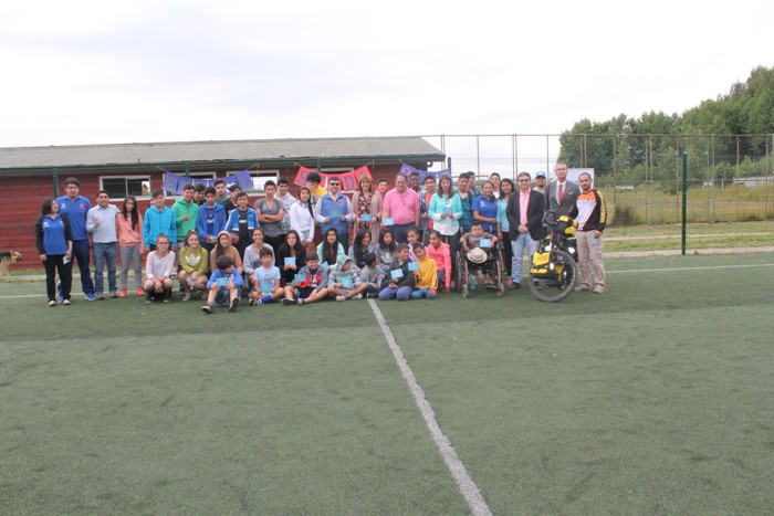 SENDA Previene Río Bueno lanzó campaña de verano con actividad recreativa de Edugol