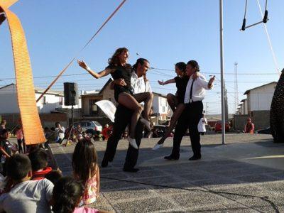 Los Vilos vive una gran fiesta circense en lanzamiento de campaña estival