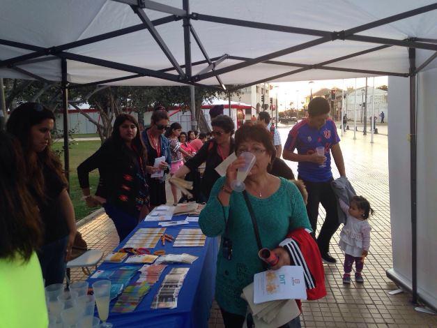Con música, baile y un pub sin alcohol se lanza campaña de verano en La Serena