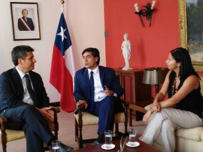 Director de SENDA presenta a nueva titular del organismo en la Región de Coquimbo