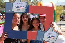 Con fiesta familiar, SENDA conmemoró Día de la Prevención en Iquique