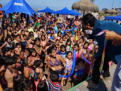 Arica celebra el verano invitando a prevenir el consumo de drogas y alcohol