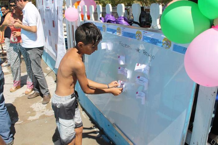 Niños y jóvenes de Pozo Almonte previenen el consumo de drogas y alcohol con actividades recreativas
