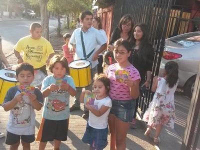 Previene La Cisterna difunde campaña de verano al ritmo de murga