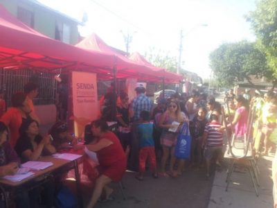 SENDA San Ramón difunde campaña en Fiesta del Agua