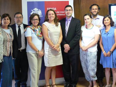 Chile, EEUU y Cicad inician trabajo conjunto para adaptar programas de formación en tratamiento y prevención para América Latina