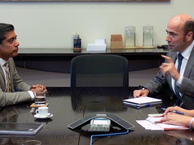 Director de SENDA sostuvo reunión protocolar con nuevo Contralor General de la República