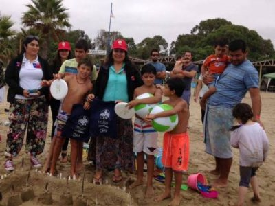 La prevención se instaló en todas las playas de Coquimbo