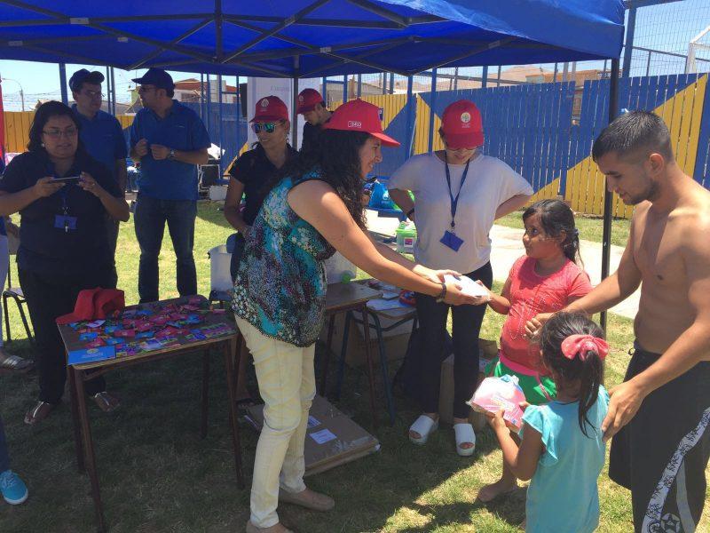 SENDA continuó con Campaña de Verano en Alto Hospicio