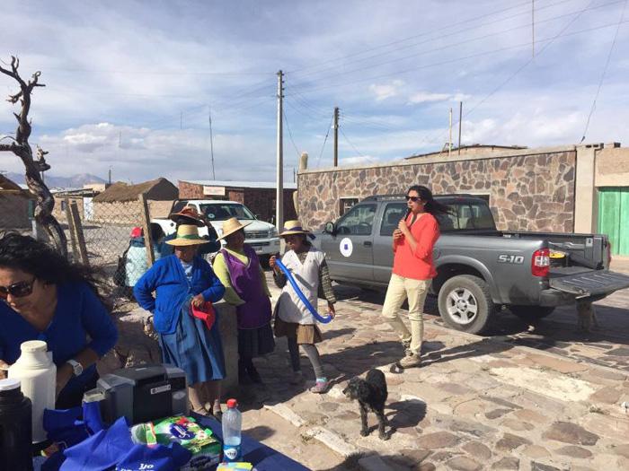 Pobladores de Cariquima participaron en Campaña de Verano de SENDA