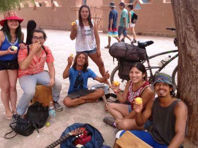 Con diversas actividades promueven la vida sana en San Pedro de Atacama