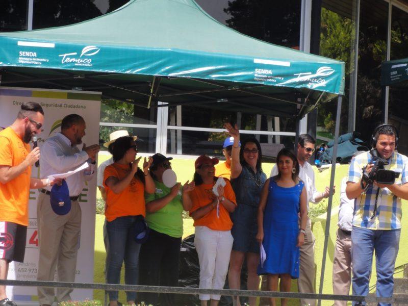 SENDA y CCHC capacitan a trabajadores  de la Araucanía en prevención