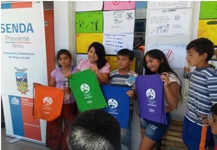 Más de 900 estudiantes conocen trabajo de SENDA Previene en San José de Maipo