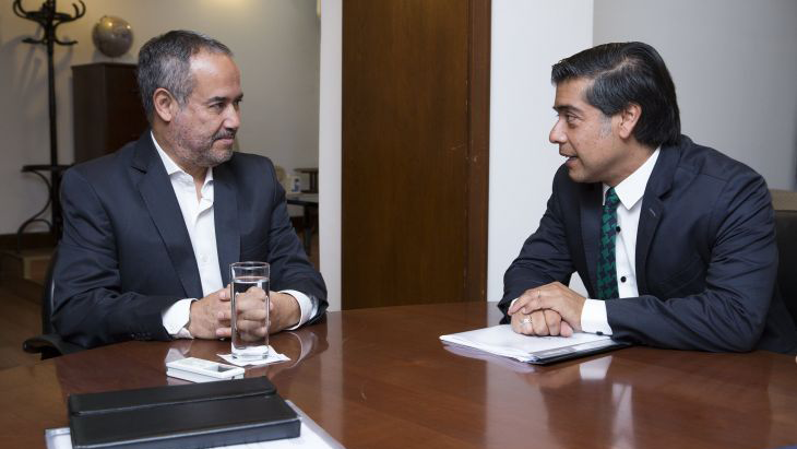 Director de SENDA se reunió con titular de Sedronar de Argentina