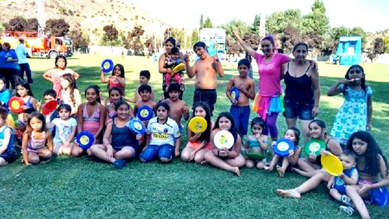 SENDA Previene organiza primera Fiesta del Agua Coinco 2016.