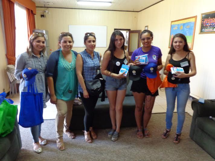 SENDA PREVIENE Lanco finalizó actividades de verano con entrega de material informativo a la Comunidad