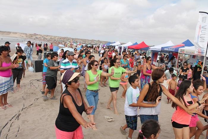 Senda Atacama se sumó a Chile Celebra en Verano en Puerto Viejo